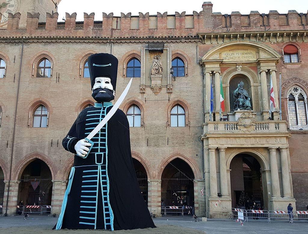 Vecchione in Piazza Maggiore